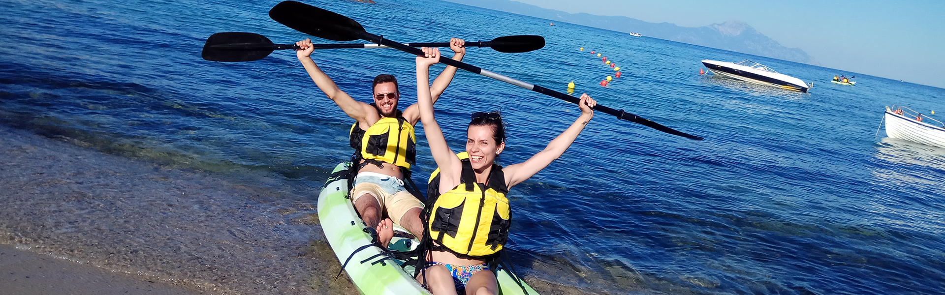 Kayak Sup Explorers - Tours Halkidiki 1