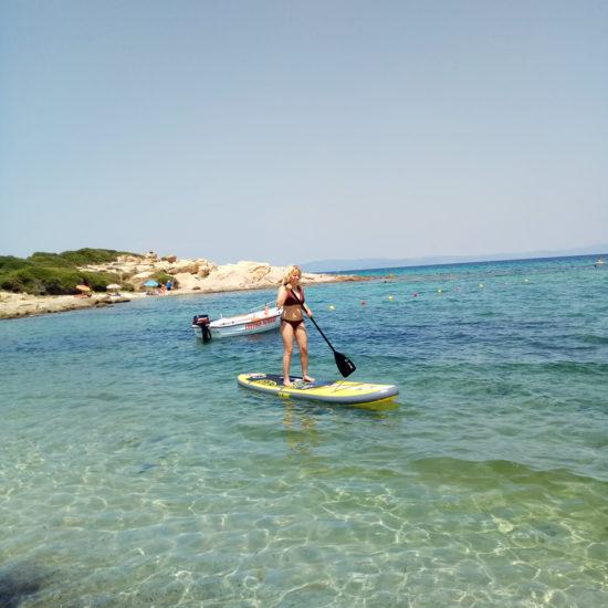 Short SUP tour - EXPLORERS - Tours Halkidiki 1
