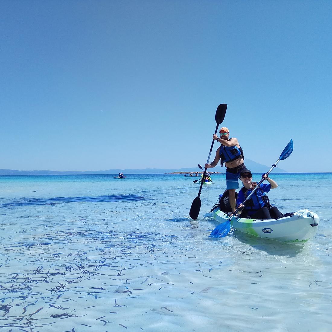 Full Day Kayak Tour - EXPLORERS -Tours Halkidiki 2