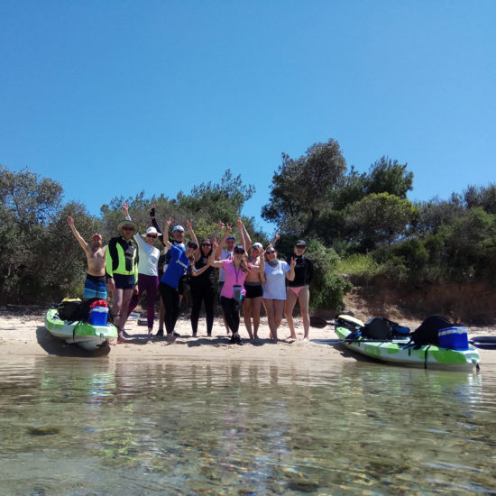 Full Day Kayak Tour - EXPLORERS -Tours Halkidiki 3