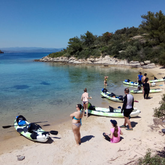 Full Day Kayak Tour - EXPLORERS -Tours Halkidiki 4