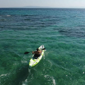 Single Kayak Rental by the hour - EXPLORERS Tours Halkidiki